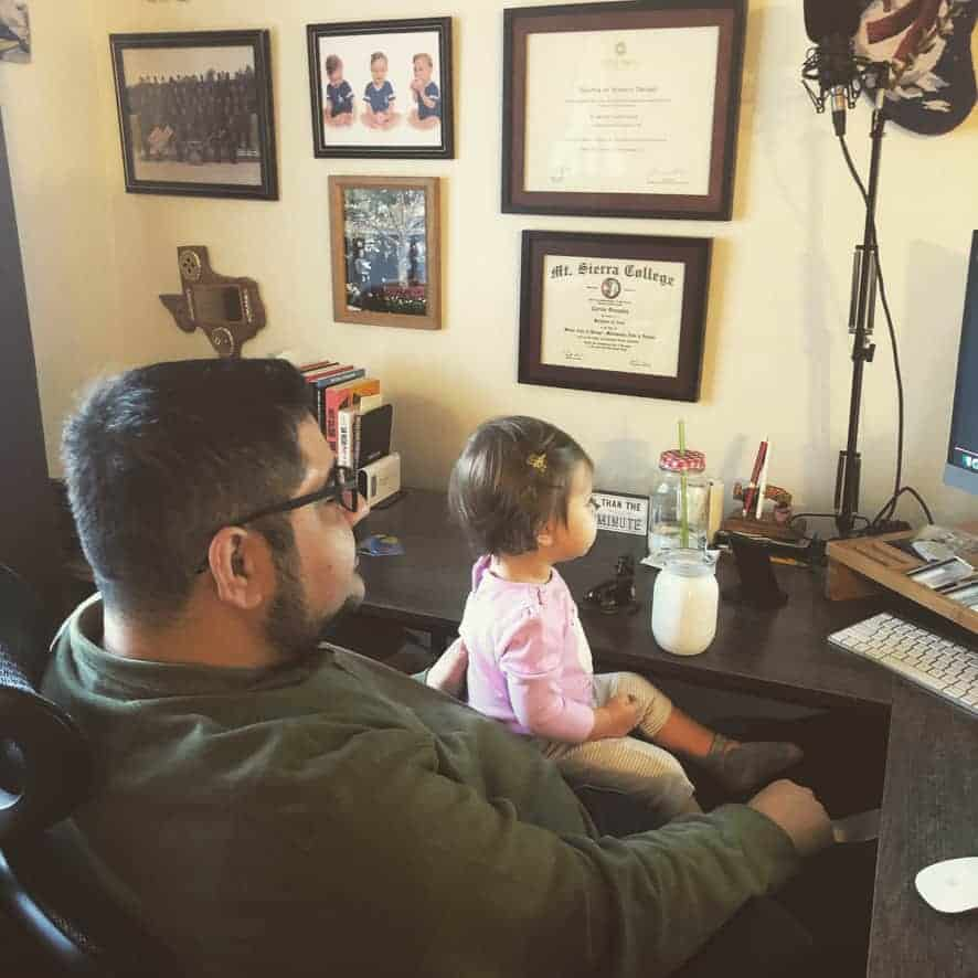 Everyday is Bring Your Daughter to Work Day