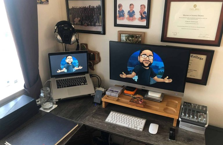 CarlosBuiltThis Home Office Space